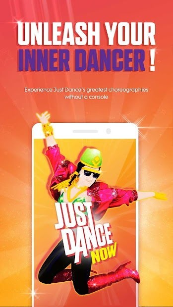 Just Dance Now Android App Screenshot
