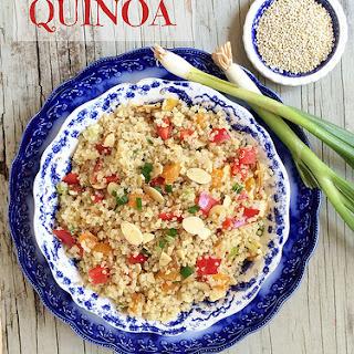Quinoa with Almonds & Apricots