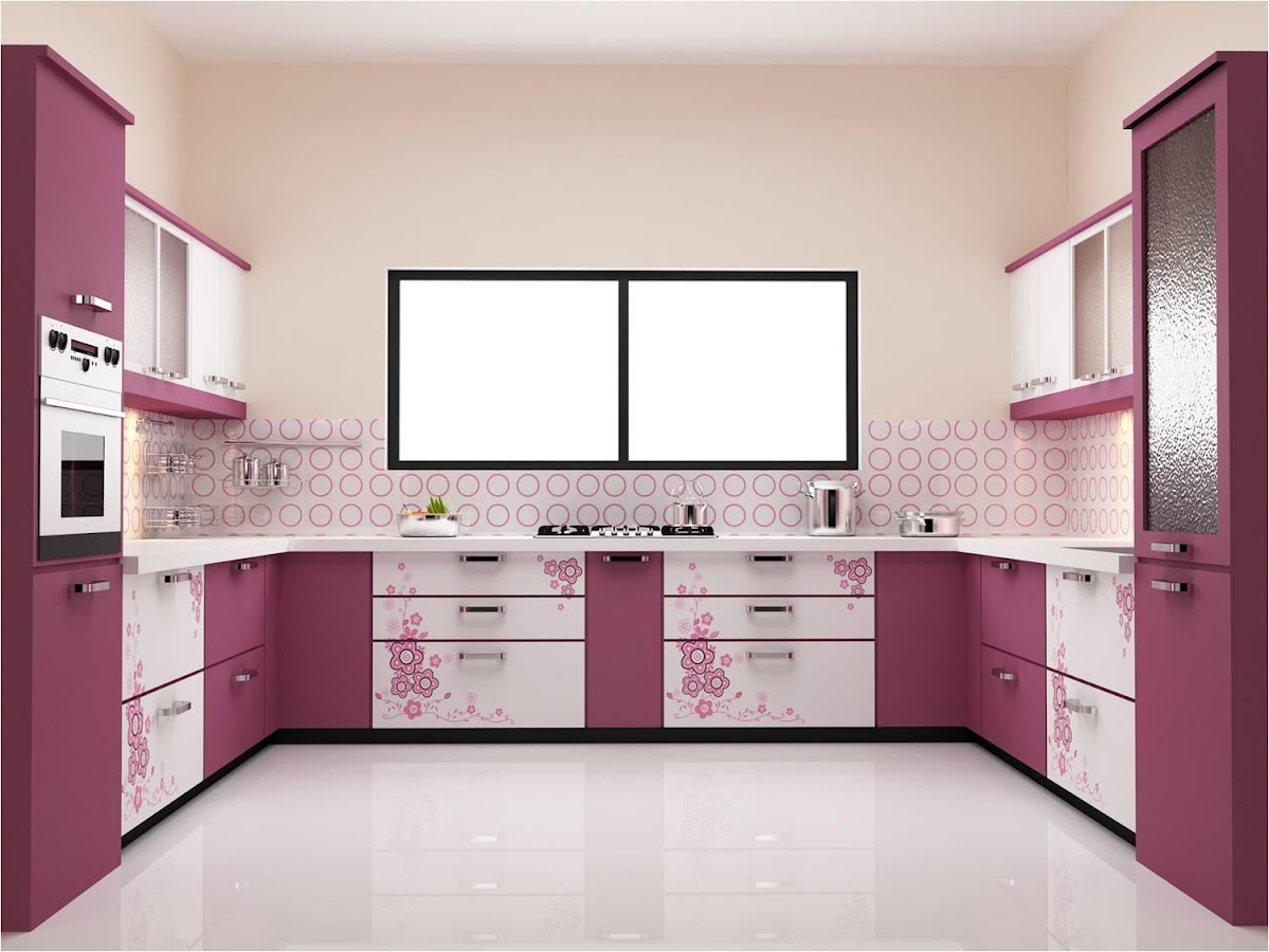 Modular kitchen designs 2017 android apps on google play for Small kitchen models