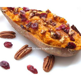 New England-Stuffed Sweet Potatoes