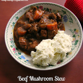 Beef Mushroom Stew.