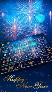 New Year Firework 2018 Keyboard Theme