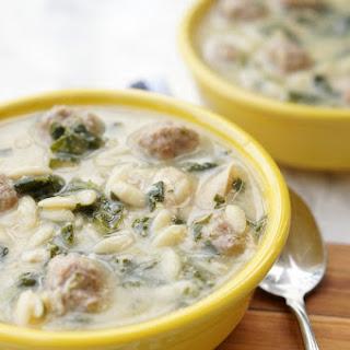 Instant Pot Italian Wedding Soup.