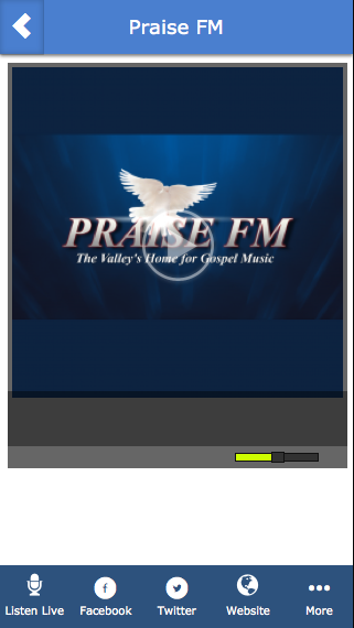 Praise FM- screenshot