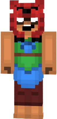 This skin is from Brawl Stars mobile game. Its different from previous by feet. Enjoy!