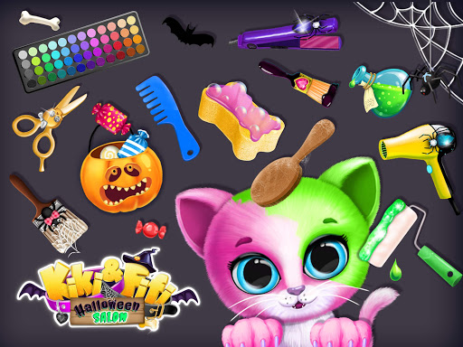 Kiki & Fifi Halloween Salon - Scary Pet Makeover 3.0.25 screenshots 9