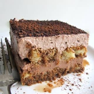Easy Chocolate Tiramisu.