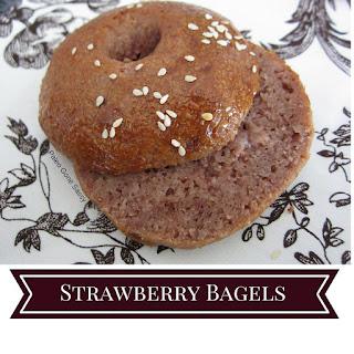 Strawberry Bagels