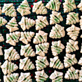 Spritz Cookies from Betty Crocker Cookbook