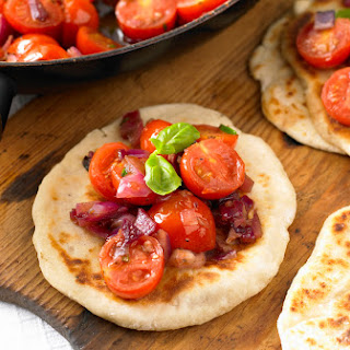 Flatbreads With Tomato Topping