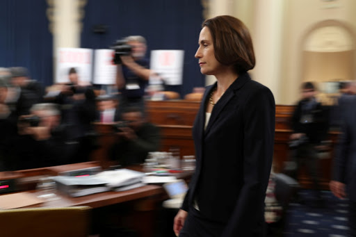 'Could I actually say something,' Hill asks impeachment inquiry
