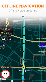 Maps and GPS Navigation OsmAnd+