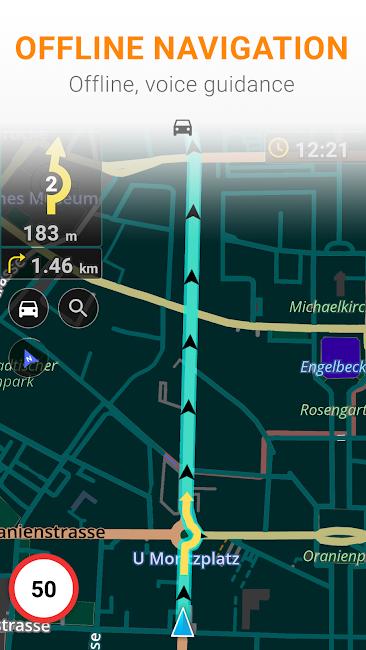 #2. Maps & GPS Navigation OsmAnd+ (Android)