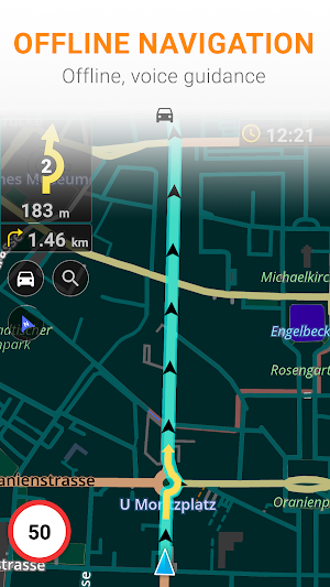 Maps & GPS Navigation OsmAnd+ 3.1.5 (Paid) APK
