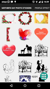 Mother's day photo stickers- screenshot thumbnail