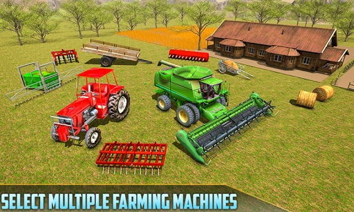 American Real Tractor Organic Farming Simulator 3D apktram screenshots 2