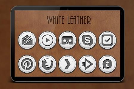 White Leather TSF Shell Theme v2.1.0