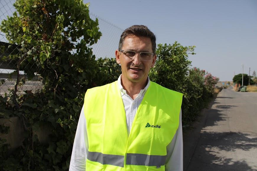 Secretario general del PSOE de Almería, José Luis Sánchez Teruel.