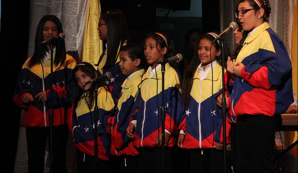 La Sinfonía N° 5 de Beethoven fue interpretada al mejor son venezolano por parte del Ensamble Infantil de Música zuliana.
