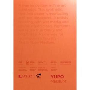 Yupo Medium Pads 5X7 10 Sheets/Pkg - White