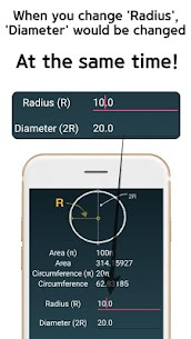 Circle Area Circumference Calculator 5