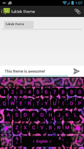 键盘主题 PinkLeo