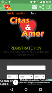 Citas y Amor Ekran Görüntüsü