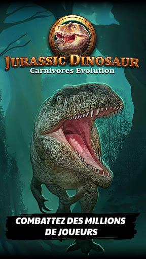 Télécharger Jurassic Dinosaur: Carnivores Evolution - Dino TCG APK MOD (Astuce) screenshots 1