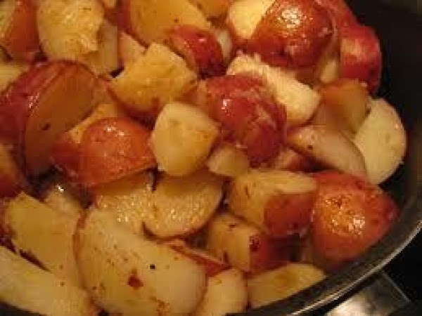 Cook and smash potatoes with a fork and place in bottom of a greased...