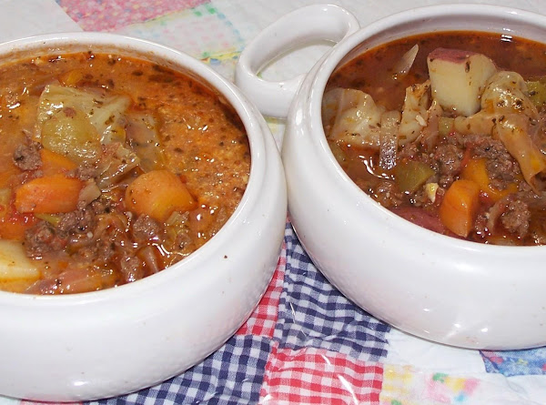 Peggi's Italian Soup/ With Or Without Cheese Recipe