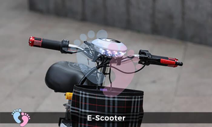 Xe điện E-Scooter mini gấp gọn 15