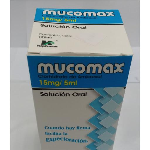 ambroxol mucomax 15mg jarabe ped 120ml kimiceg