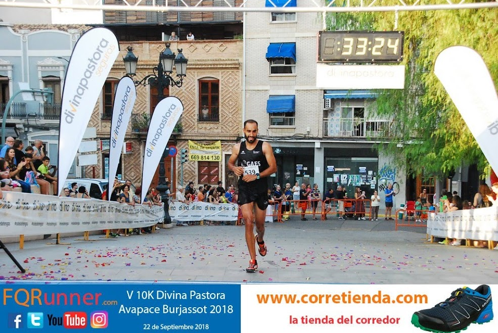 atleta del GAES Running Team CELESTINO FERNÁNDEZ MARTÍNEZ