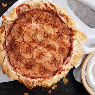 Layered Apple Pie with Phyllo Crust Recipe