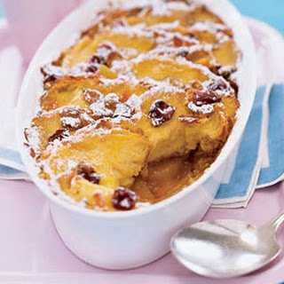 Apple-Lemon Bread Pudding