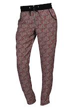 Photo: Pantalon imprimé BISCOTE, Taille elastique - Mode BE