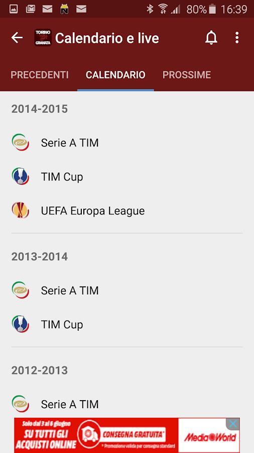 Torino Granata- screenshot