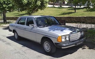 Mercedes W123 300 Turbo-diesel Rent Porto