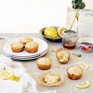 Honey Lemon Chia Seed Muffins.