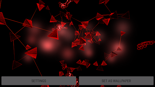 Particle Cells & Molecules 3D Live Wallpaper  screenshots 16