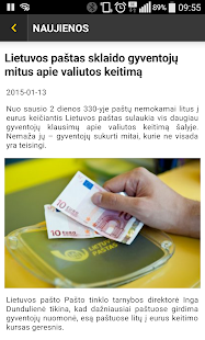 Lithuania Post- screenshot thumbnail