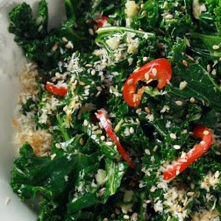 Coconut-Ginger Kale