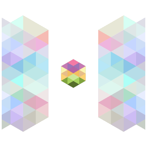 Color cube wallpaper