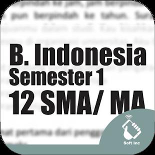 Kelas 12 SMA-SMK-MA Mapel Bhs Indonesia Smt 1 - náhled