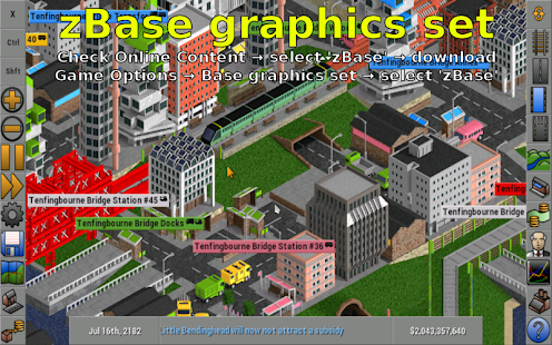 OpenTTD JGR Screenshot