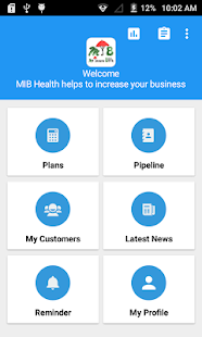 MIB Health Insurance App - náhled