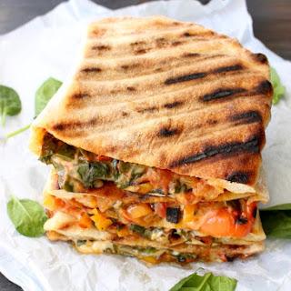 Vegetarian Calzone.