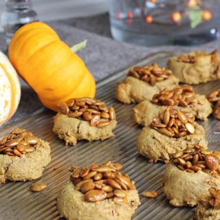 Pumpkin Pie Cookies with Pumpkin Seed Bark Recipe