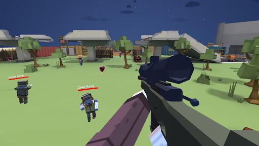 Blocky Zombie Survival 2 apkpoly screenshots 5