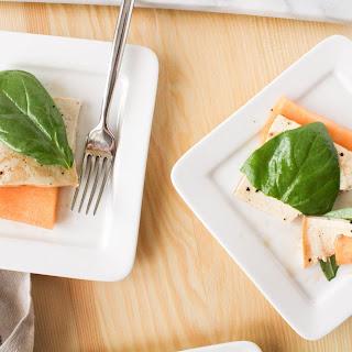 Honey Balsamic Cantaloupe Melon Brunch Salad